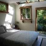 B&B room - view of magic cedar and sky.